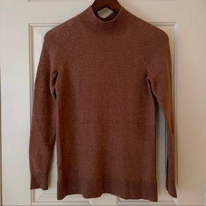 LOFT Pink Mock Neck Sweater